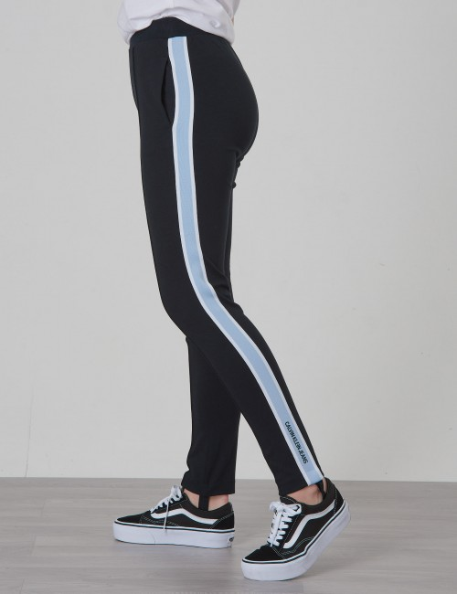 Calvin Klein - SIDE STRIPE PUNTO PANTS